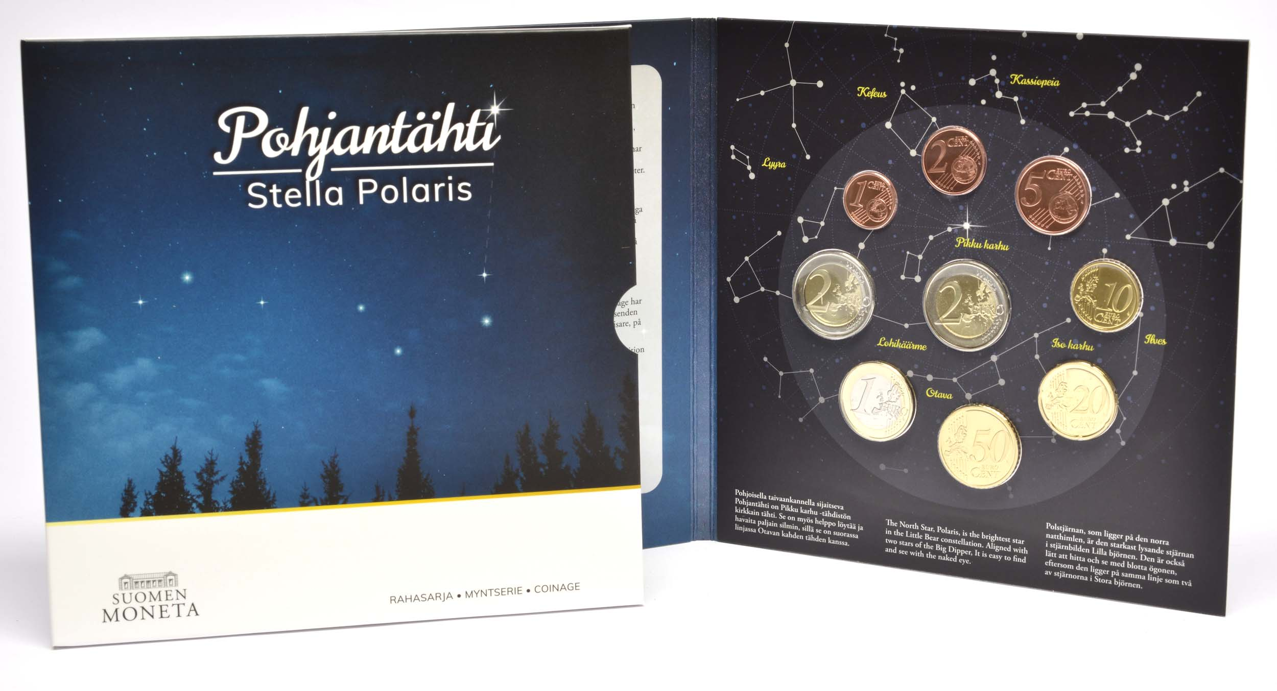 Lieferumfang:Finnland : 5,88 Euro KMS Finnland Stella Polaris  2020 Stgl.