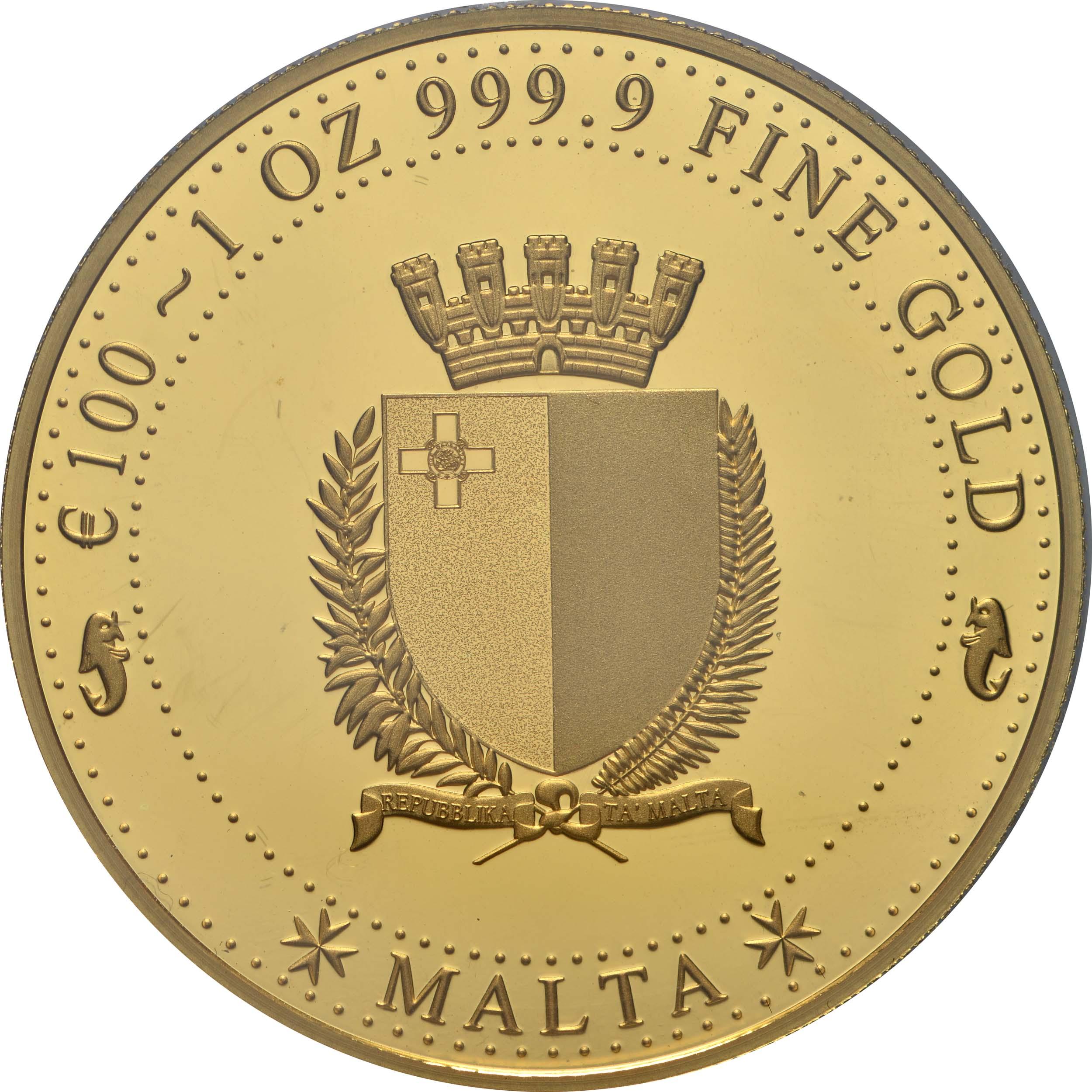 Rückseite:Malta : 100 Euro Melita  2020 PP