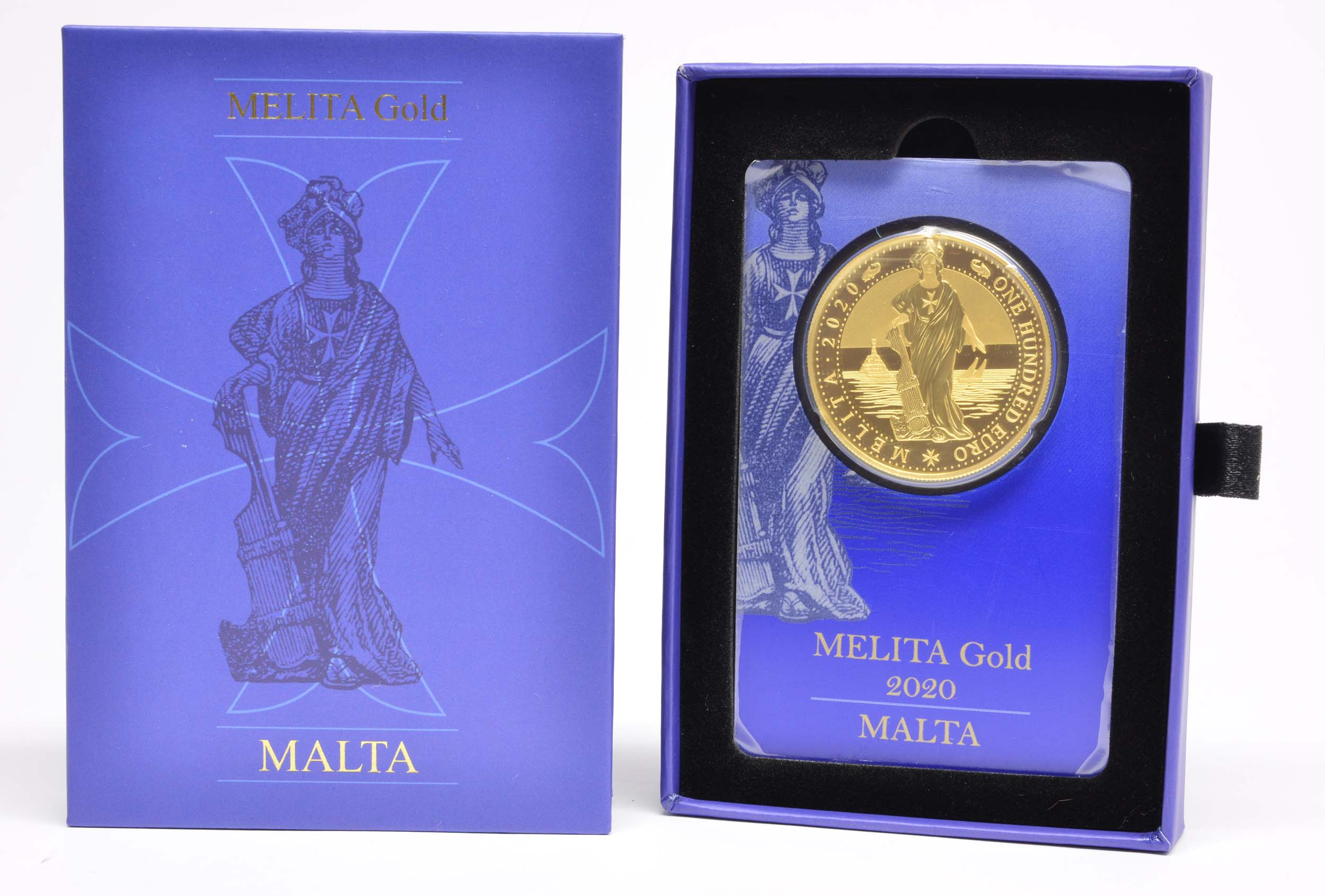 Lieferumfang:Malta : 100 Euro Melita  2020 PP
