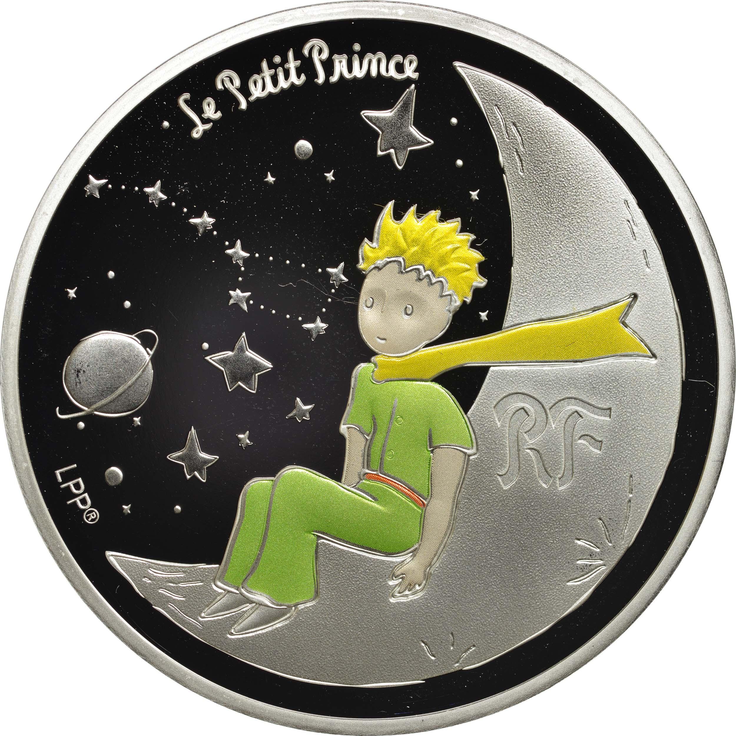 Vorderseite:Frankreich : 10 Euro Mond  2021 PP