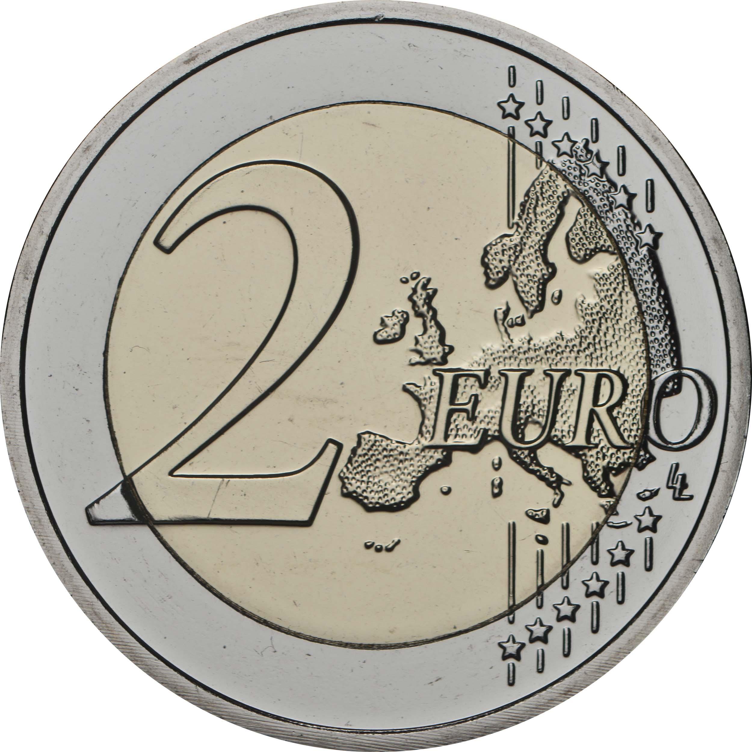 Vorderseite:Luxemburg : 2 Euro Prinz Charles Münzzeichen Brücke  2020 Stgl.