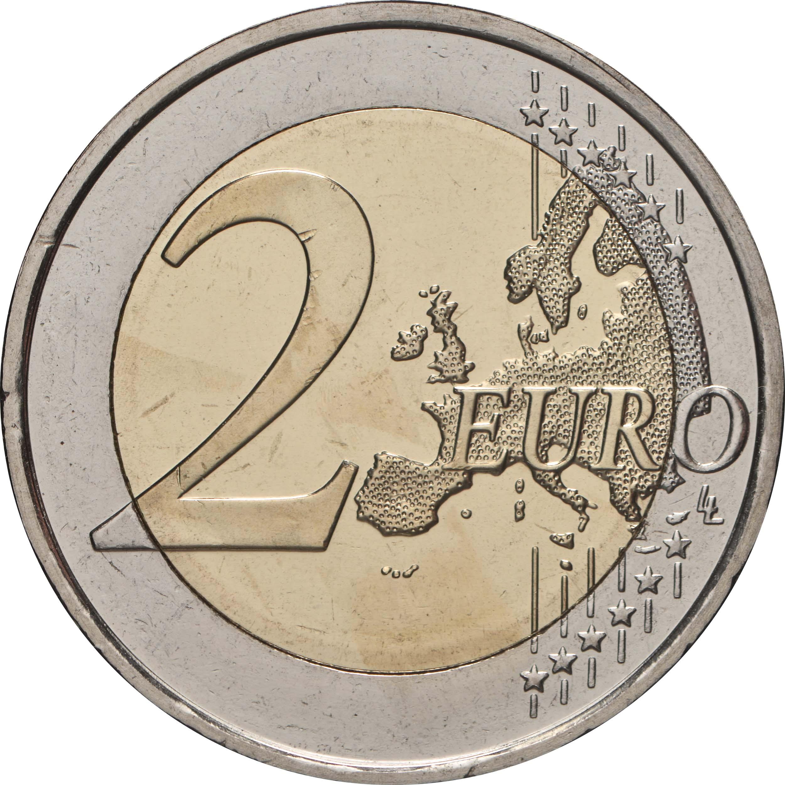 Vorderseite:Finnland : 2 Euro Journalismus und Redefreiheit  2021 bfr