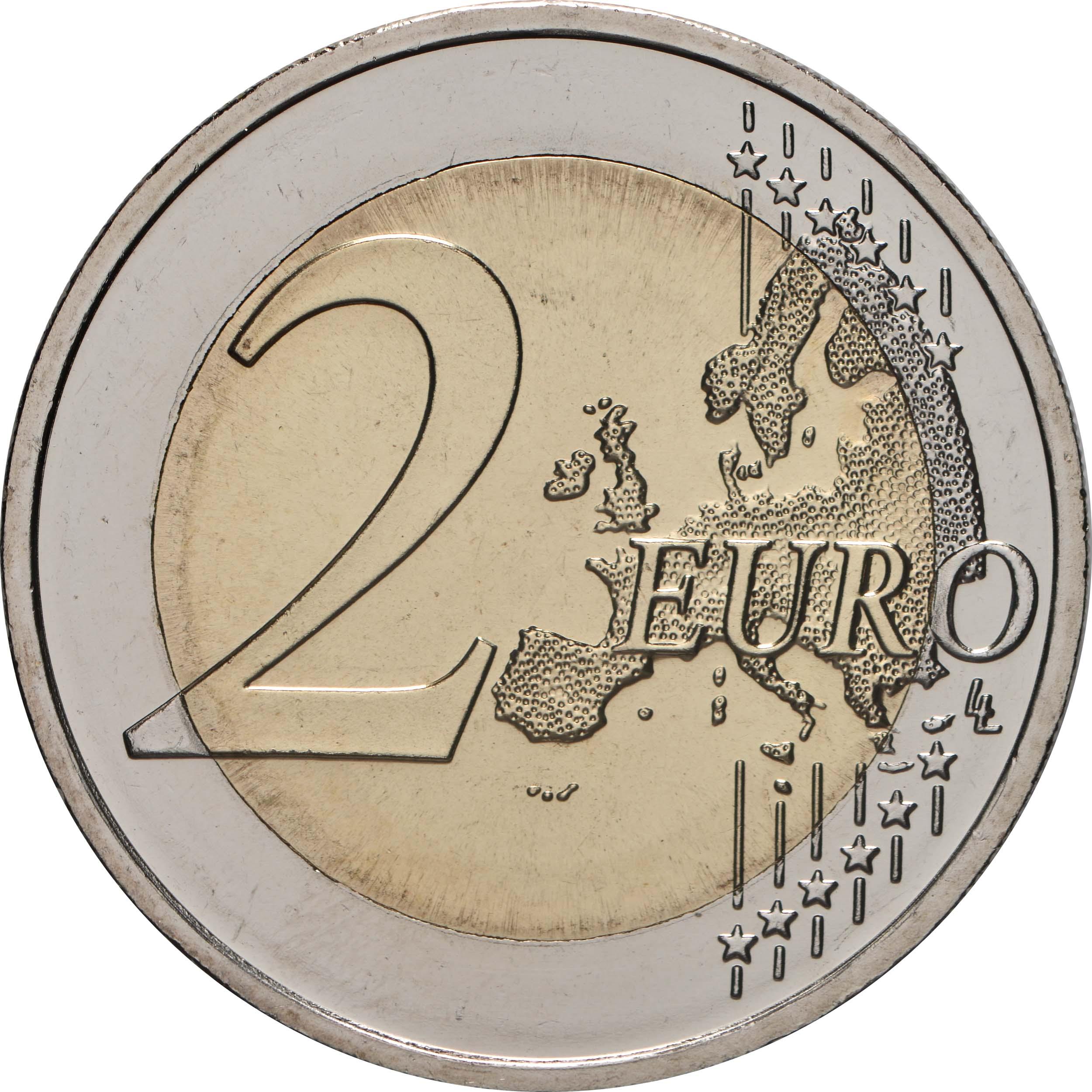 Vorderseite:Deutschland : 2 Euro Sachsen-Anhalt - Magdeburger Dom  2021 bfr