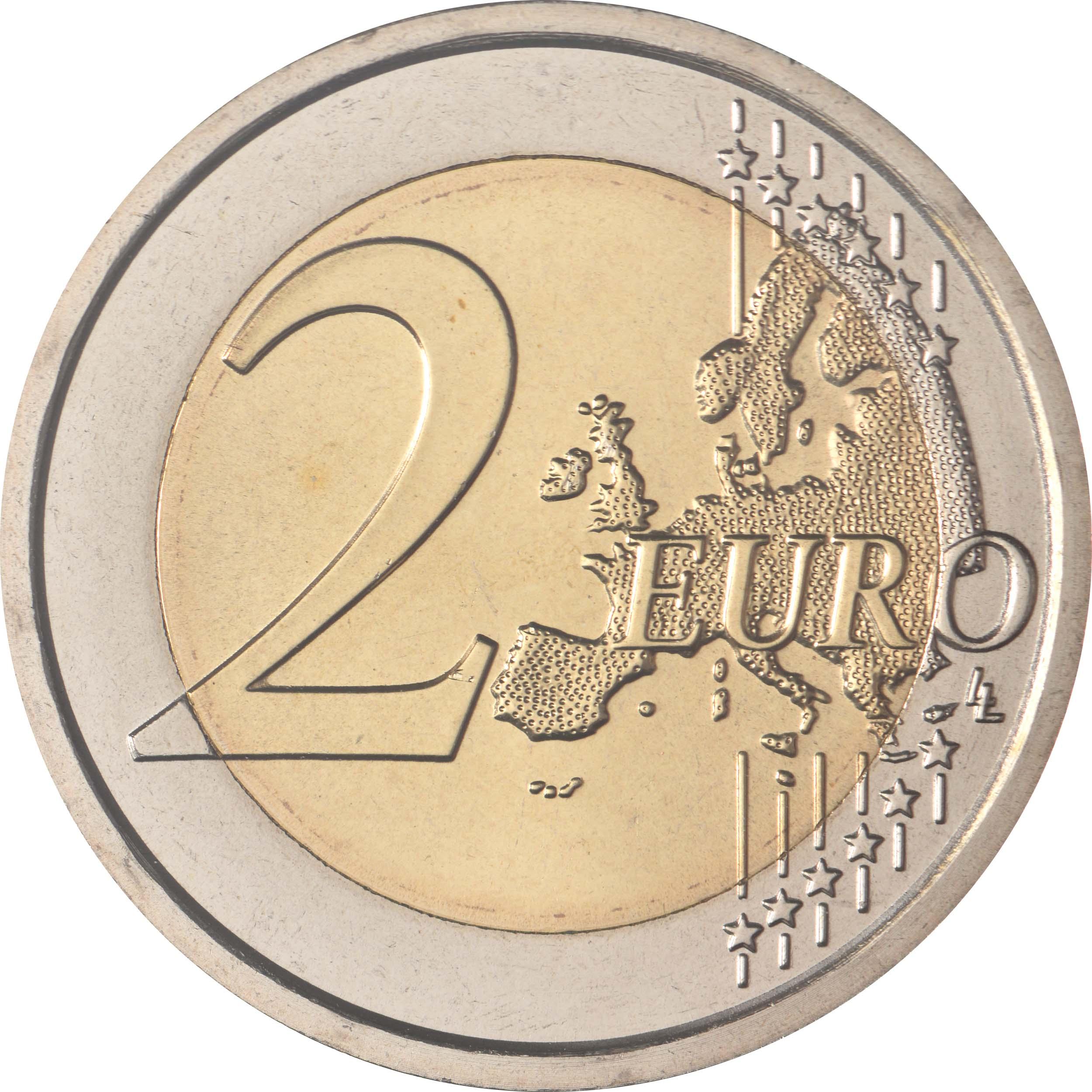 Vorderseite:San Marino : 2 Euro 550. Geburtstag von Albrecht Dürer  2021 Stgl.