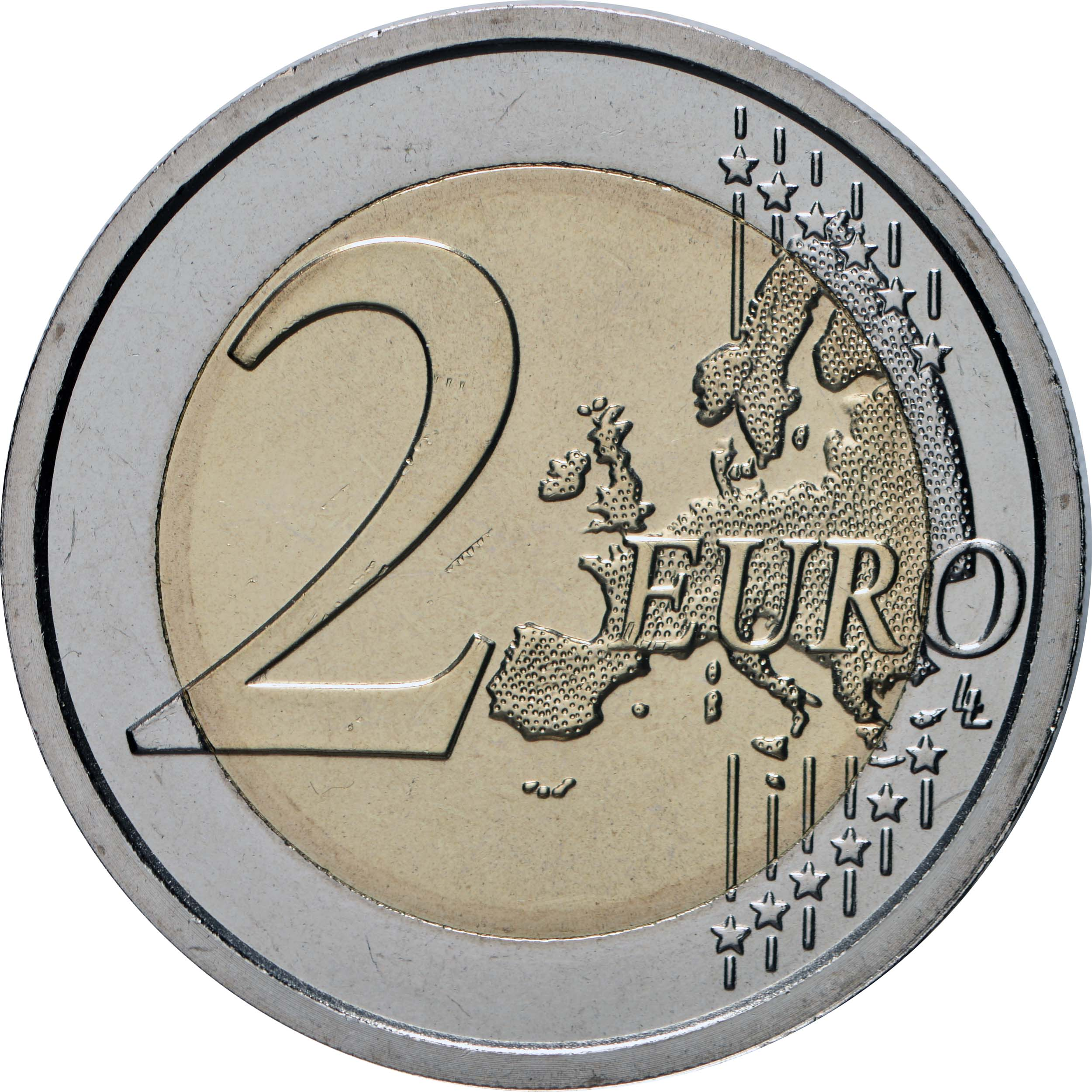 Vorderseite:Vatikan : 2 Euro 450. Geburtstag von Caravaggio  2021 Stgl.