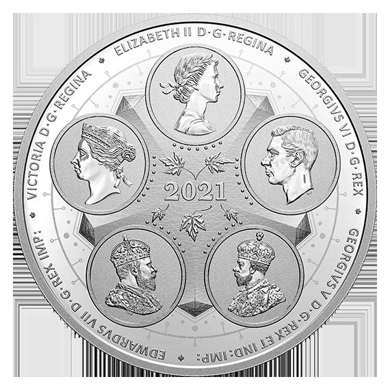 Vorderseite:Kanada : 50 Dollar Die ersten 100 Jahre der Konföderation: Erwachsenwerden  2021 PP