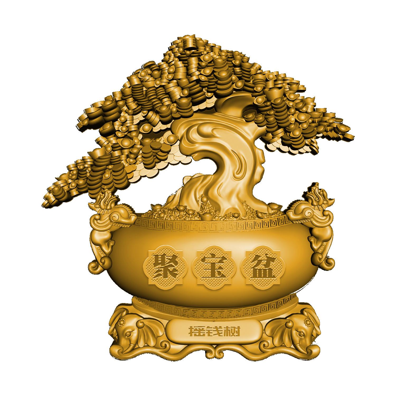 Lieferumfang:Tschad : 10000 Franc Chinesischer Geldbaum - Antik Finish  2021 Stgl.