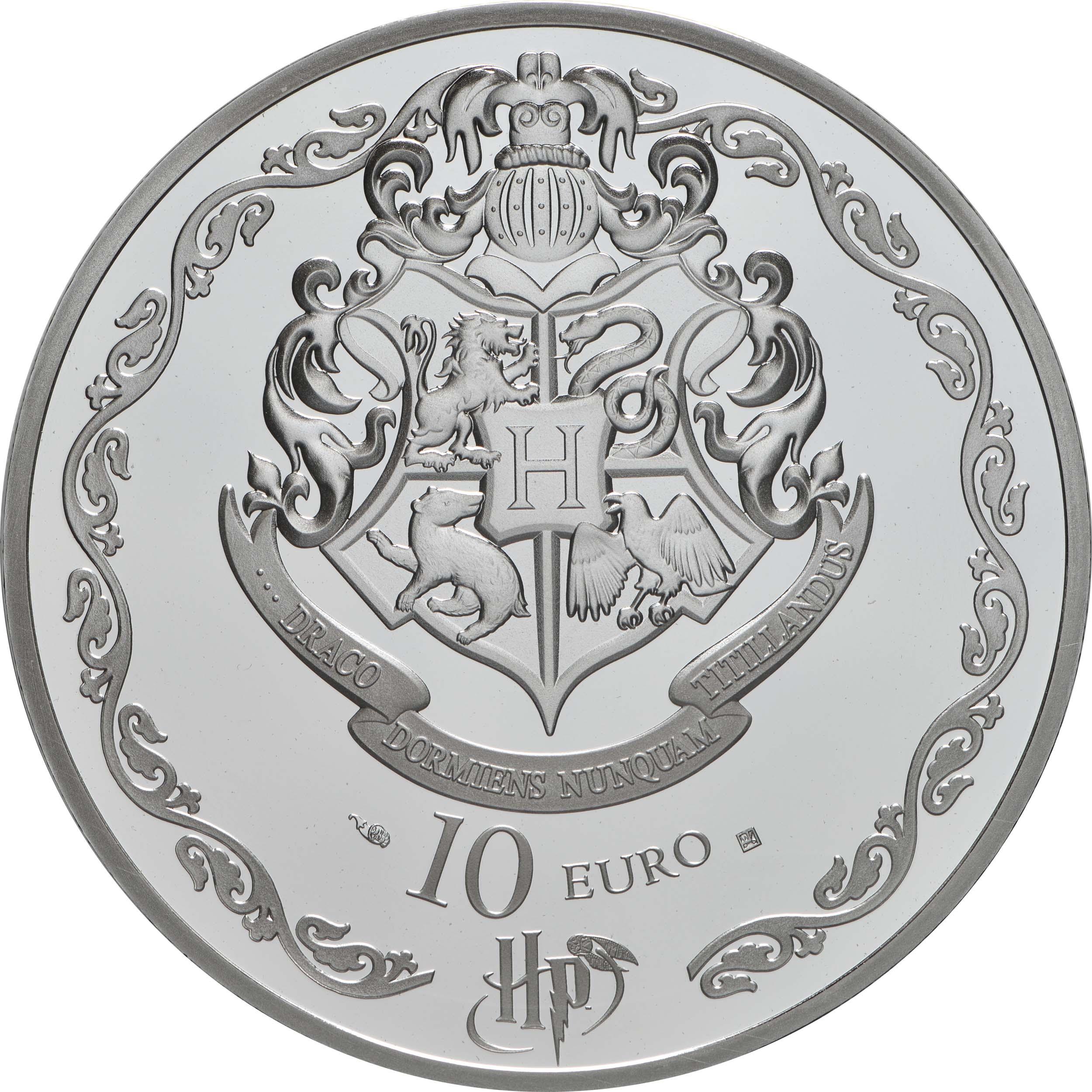 Rückseite:Frankreich : 10 Euro Harry Potter und Dumbledore  2021 PP