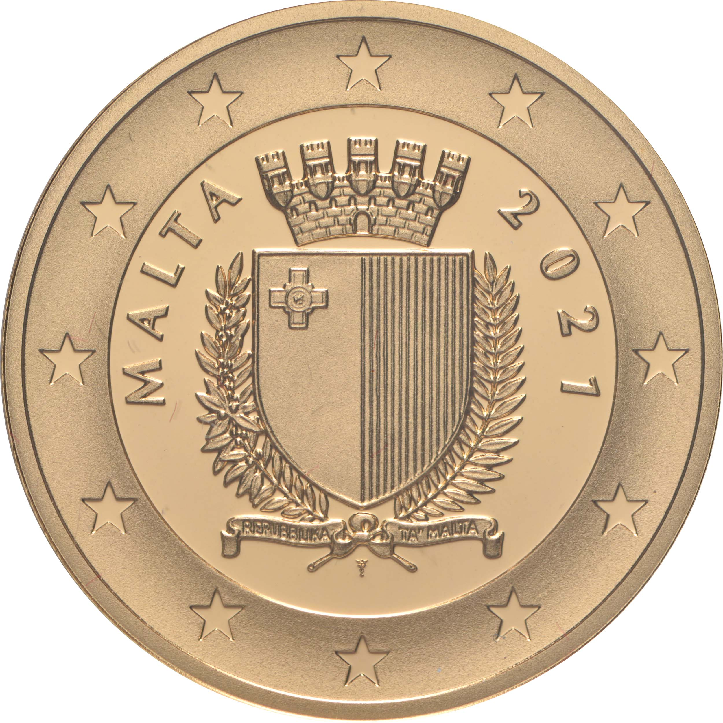 Rückseite:Malta : 50 Euro 550. Geburtstag Albrecht Dürer  2021 PP