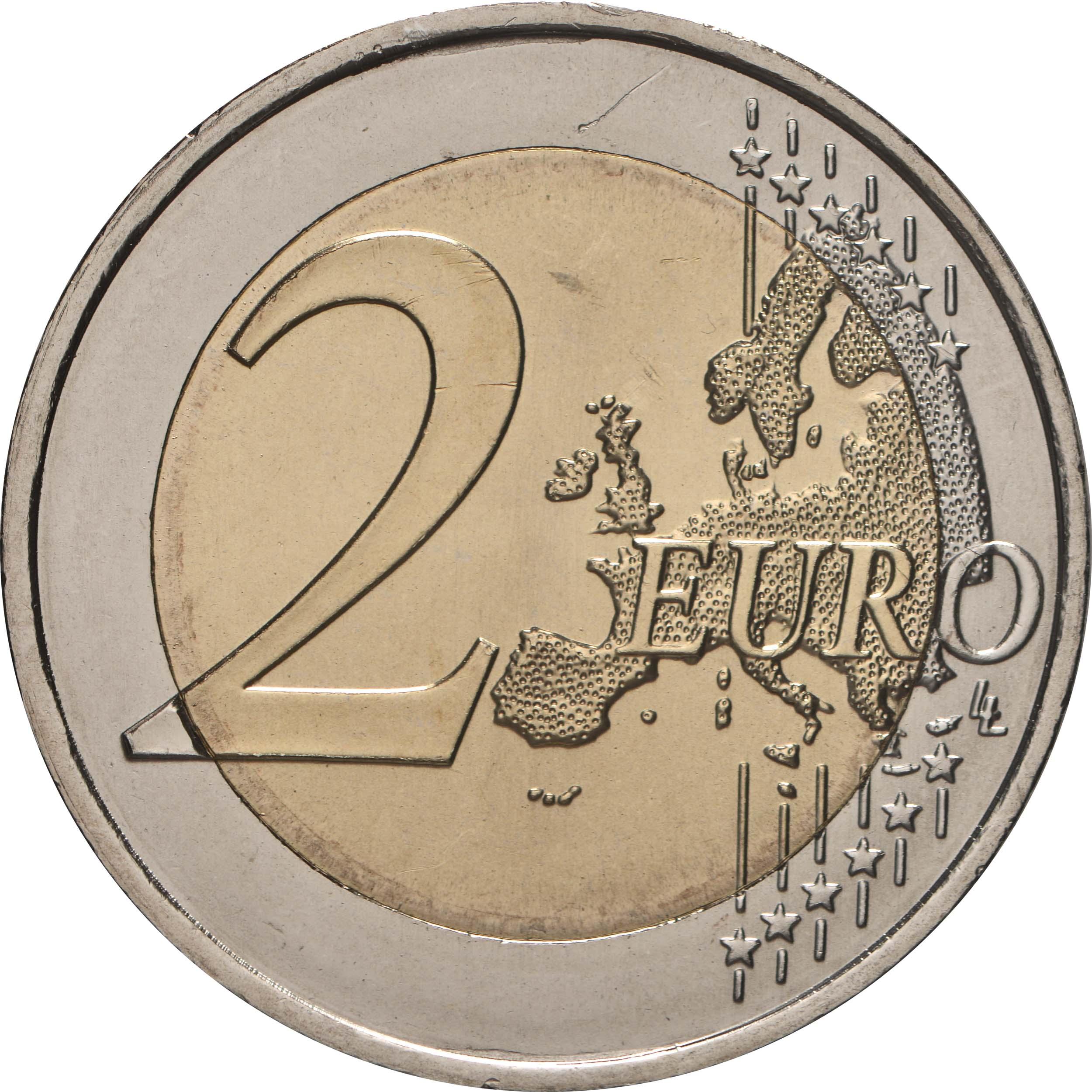 Vorderseite:Portugal : 2 Euro Teilnahme an den Olympischen Spielen in Tokio  2021 bfr