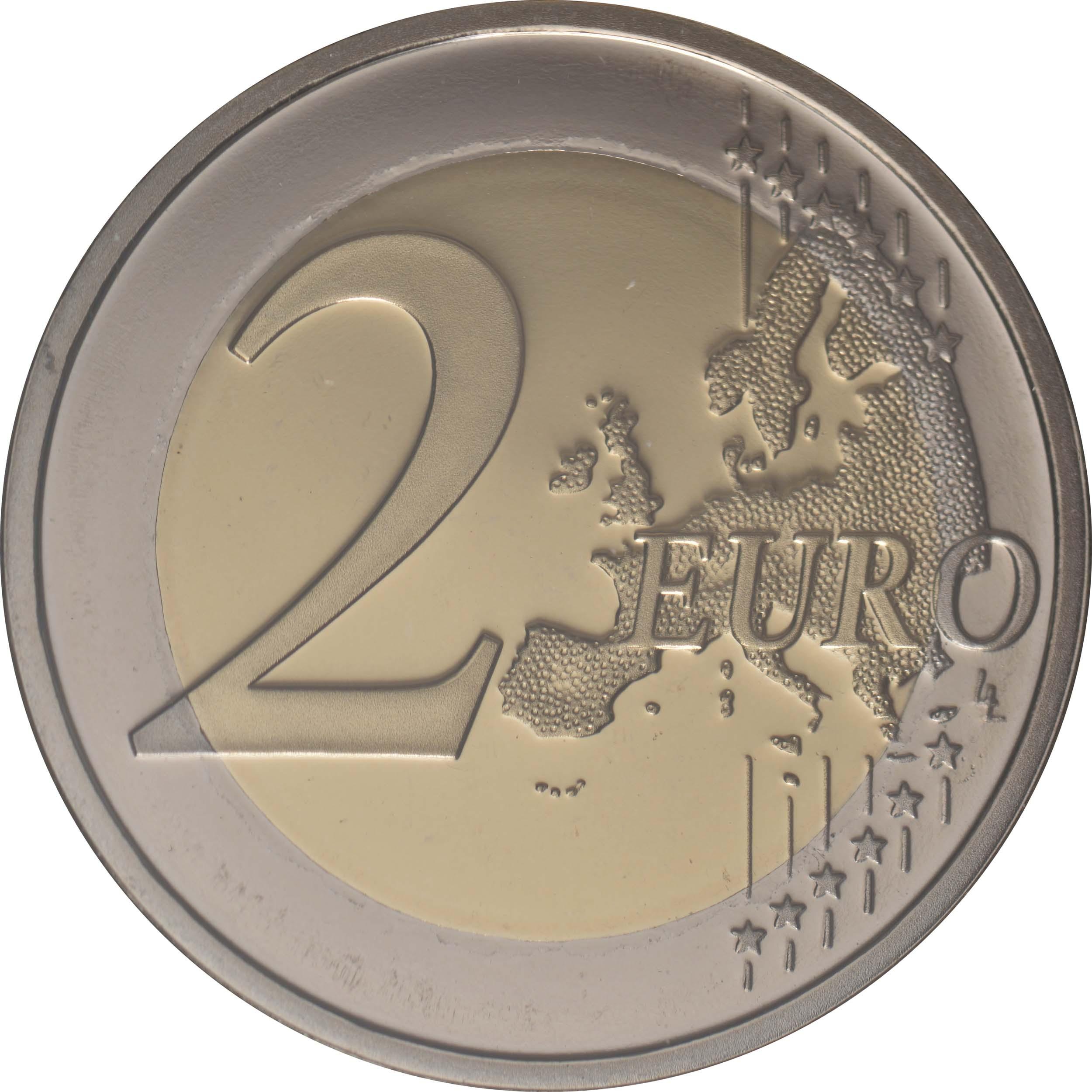 Vorderseite:Portugal : 2 Euro Teilnahme an den Olympischen Spielen in Tokio  2021 PP
