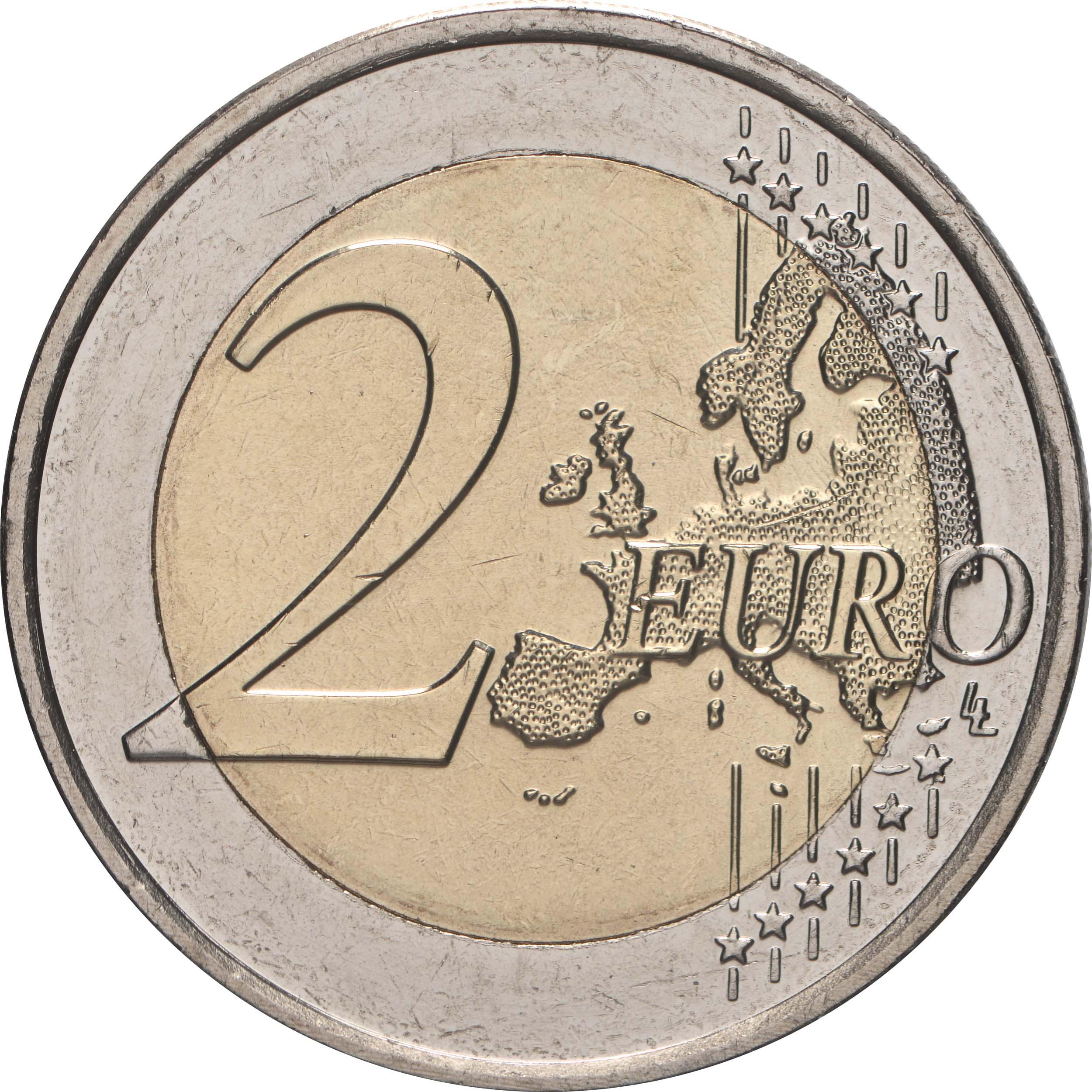 Vorderseite:Luxemburg : 2 Euro 100. Geburtstag des Großherzogs Jean / Hologrammprägung  2021 bfr