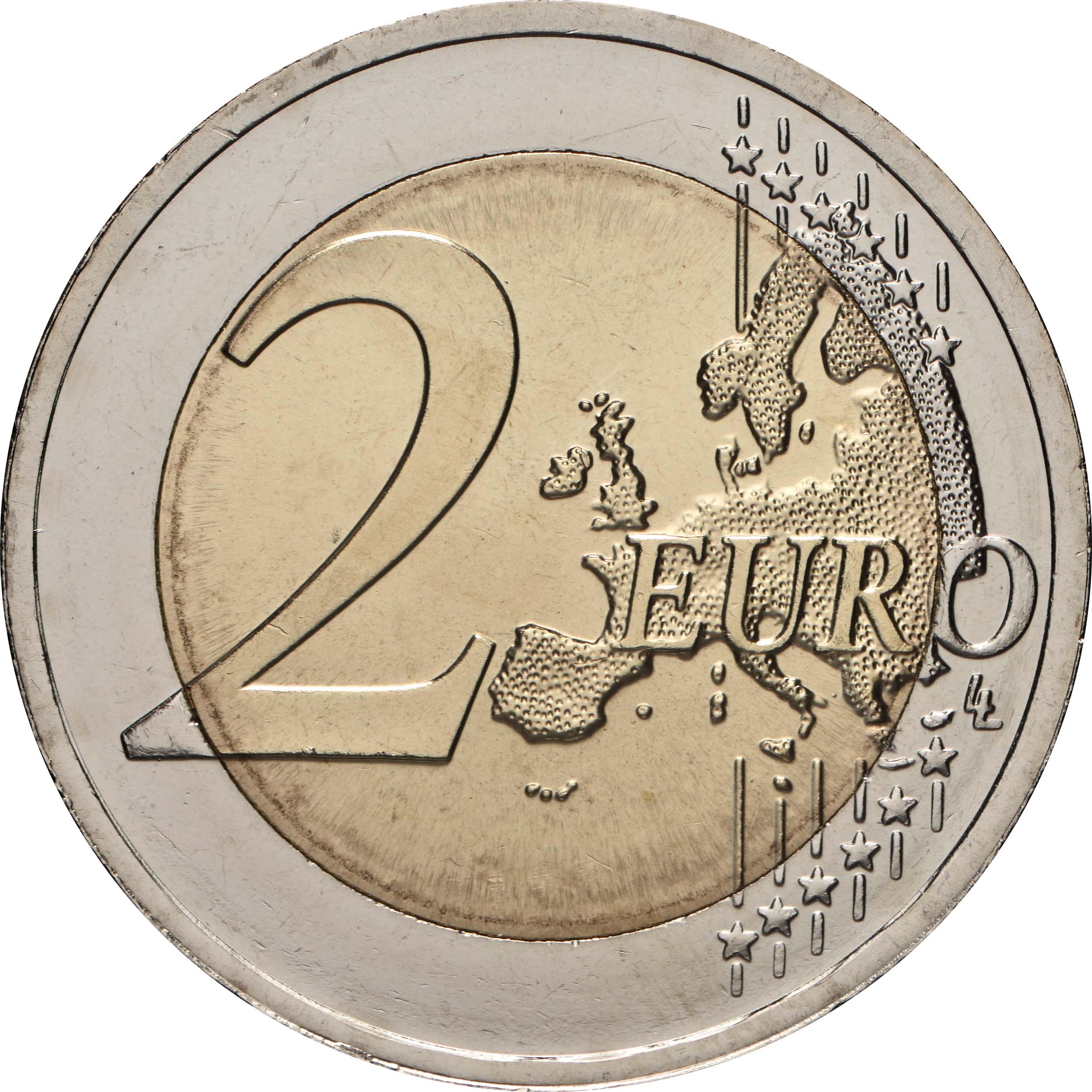 Vorderseite:Litauen : 2 Euro Dzukija  2021 bfr