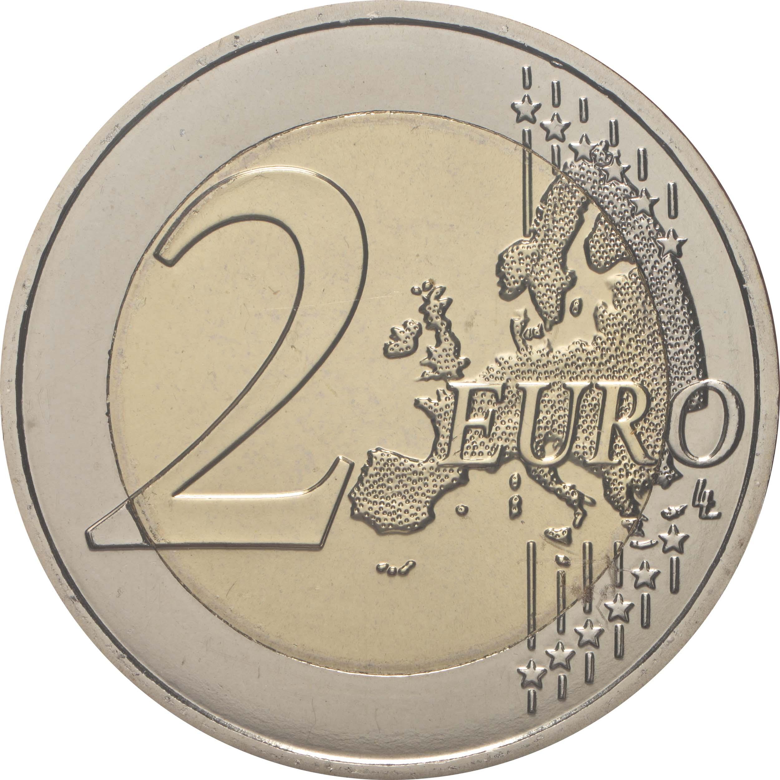 Vorderseite:Frankreich : 2 Euro Läuferin 5 Coincards in den Farben violett, gelb, rot, grün, blau  2021 bfr