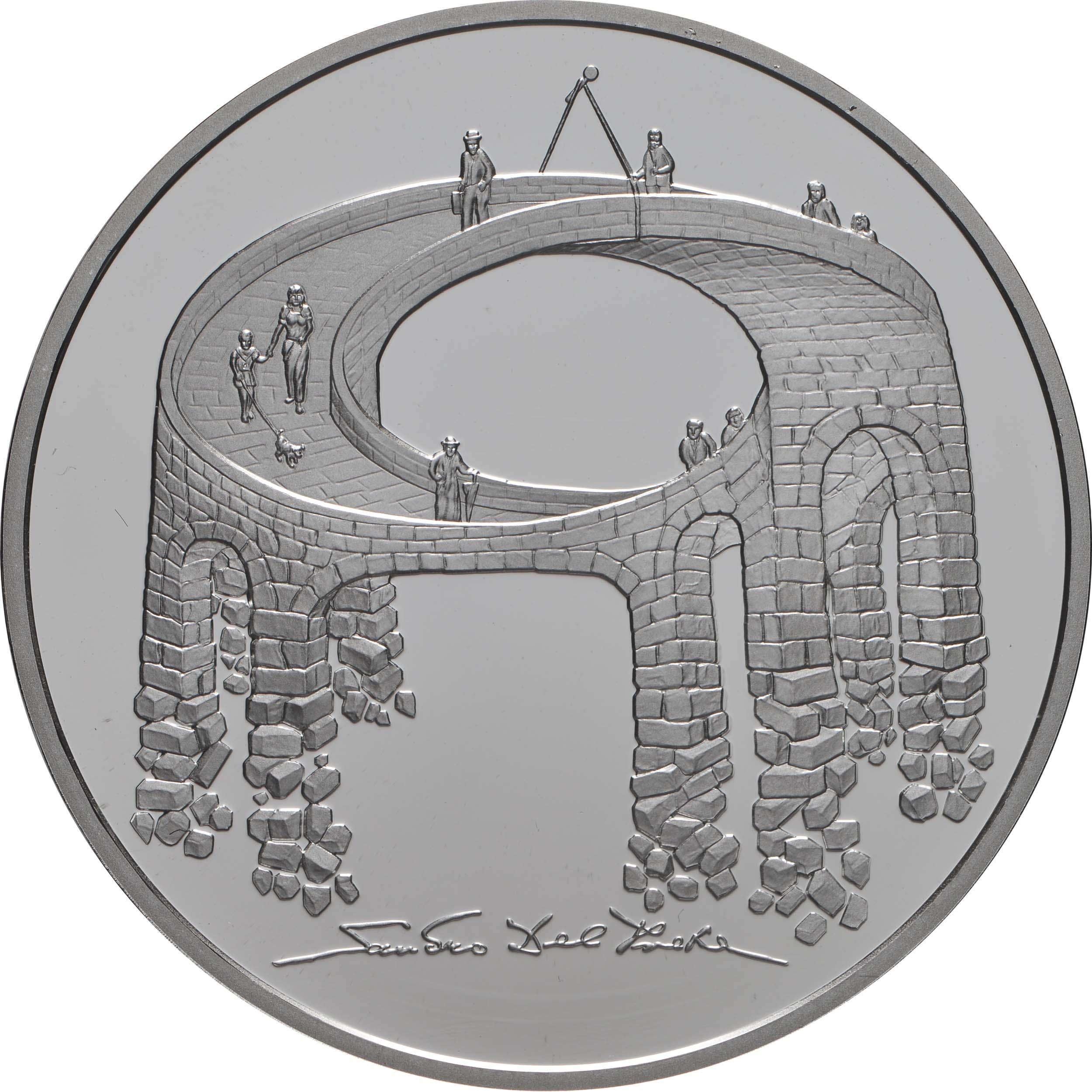 Vorderseite:Schweiz : 20 Franken Illusion-Viadukt des Lebens  2021 PP