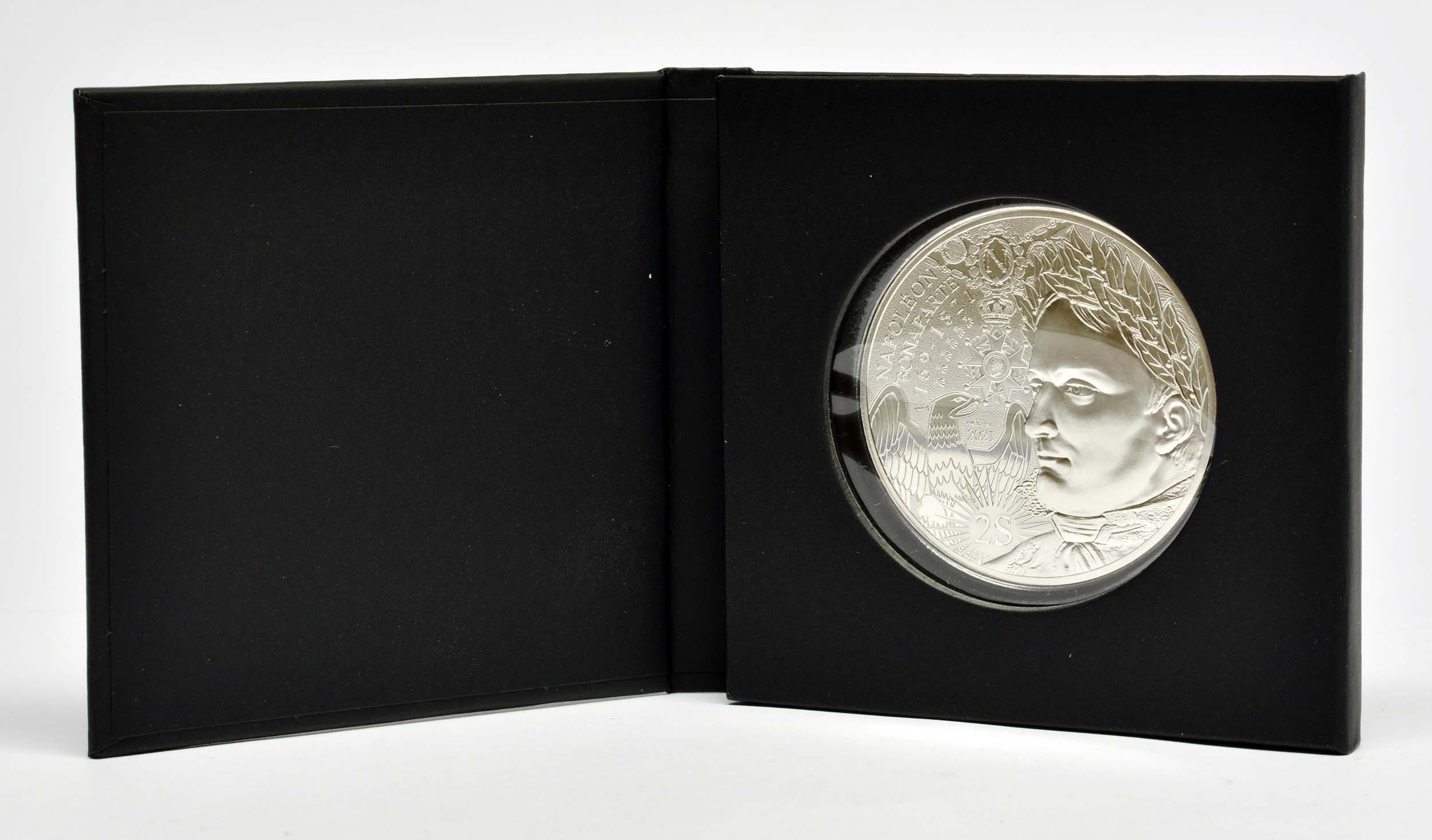 Lieferumfang:Frankreich : 100 Euro Napoleon  2021 Stgl.