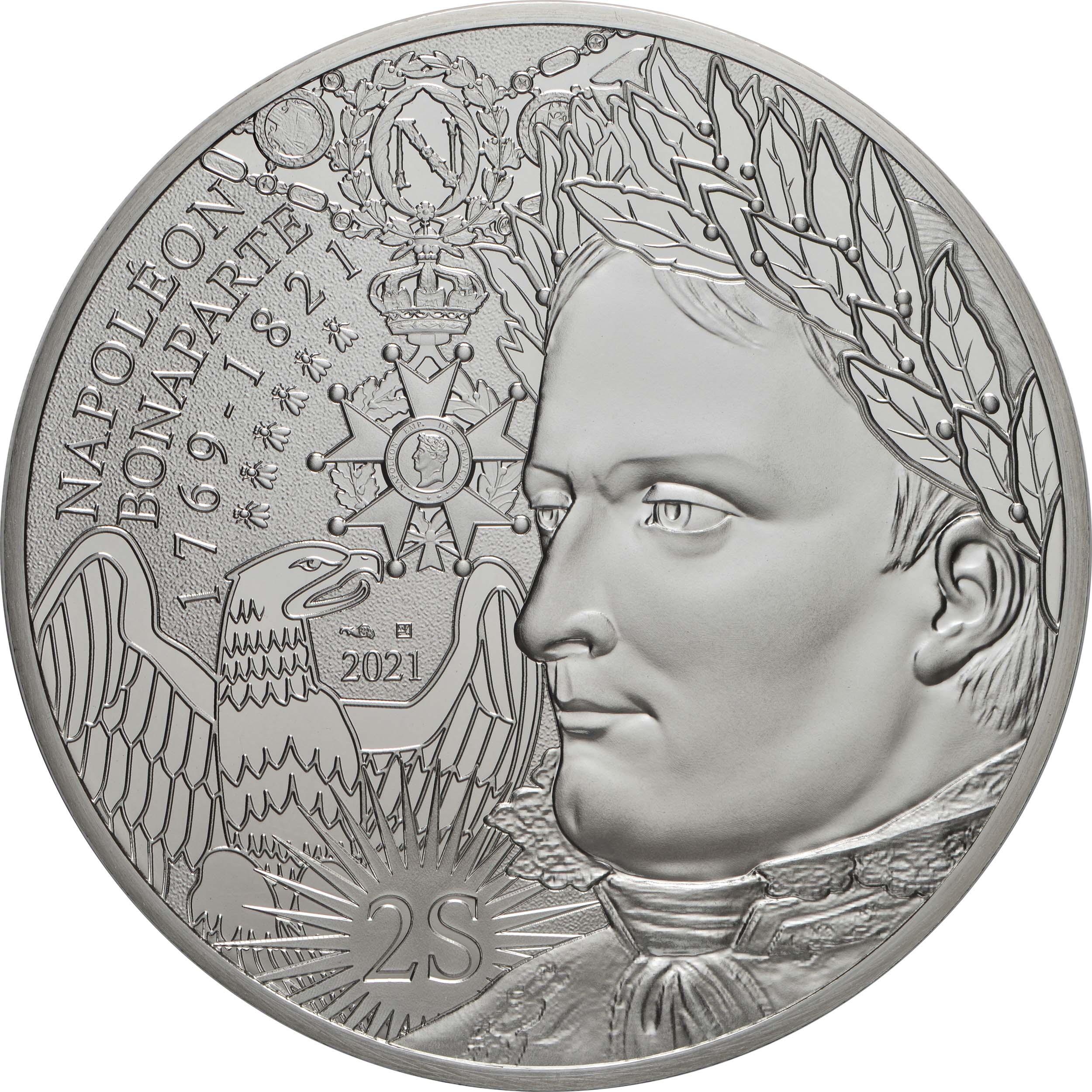 Vorderseite:Frankreich : 100 Euro Napoleon  2021 Stgl.