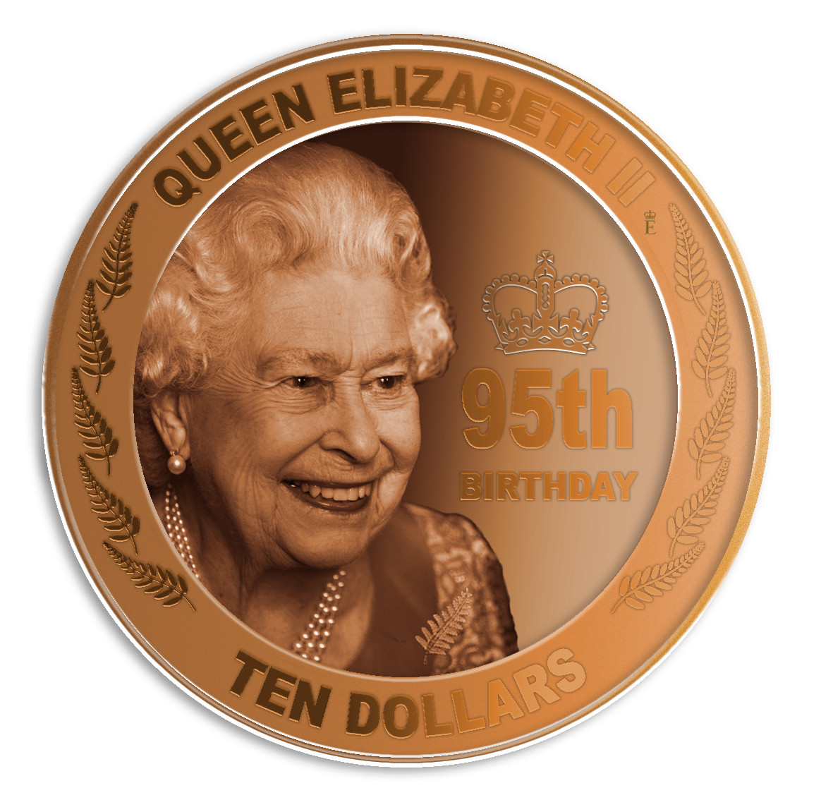Lieferumfang:Neuseeland : 1 Dollar Königin Elizabeth II 95. Geburtstag  2021 PP