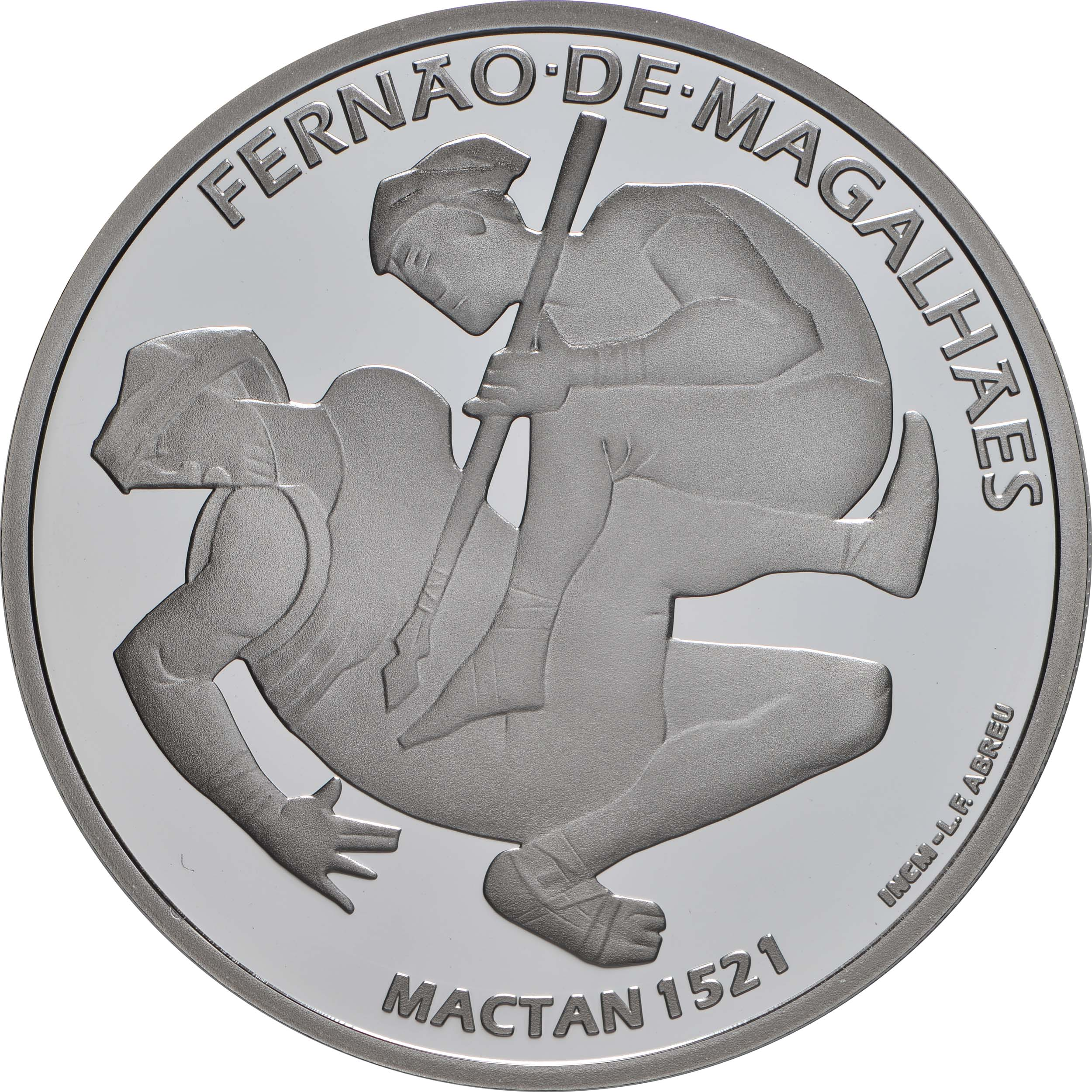 Vorderseite:Portugal : 7,5 Euro 1521 Mactan  2021 PP