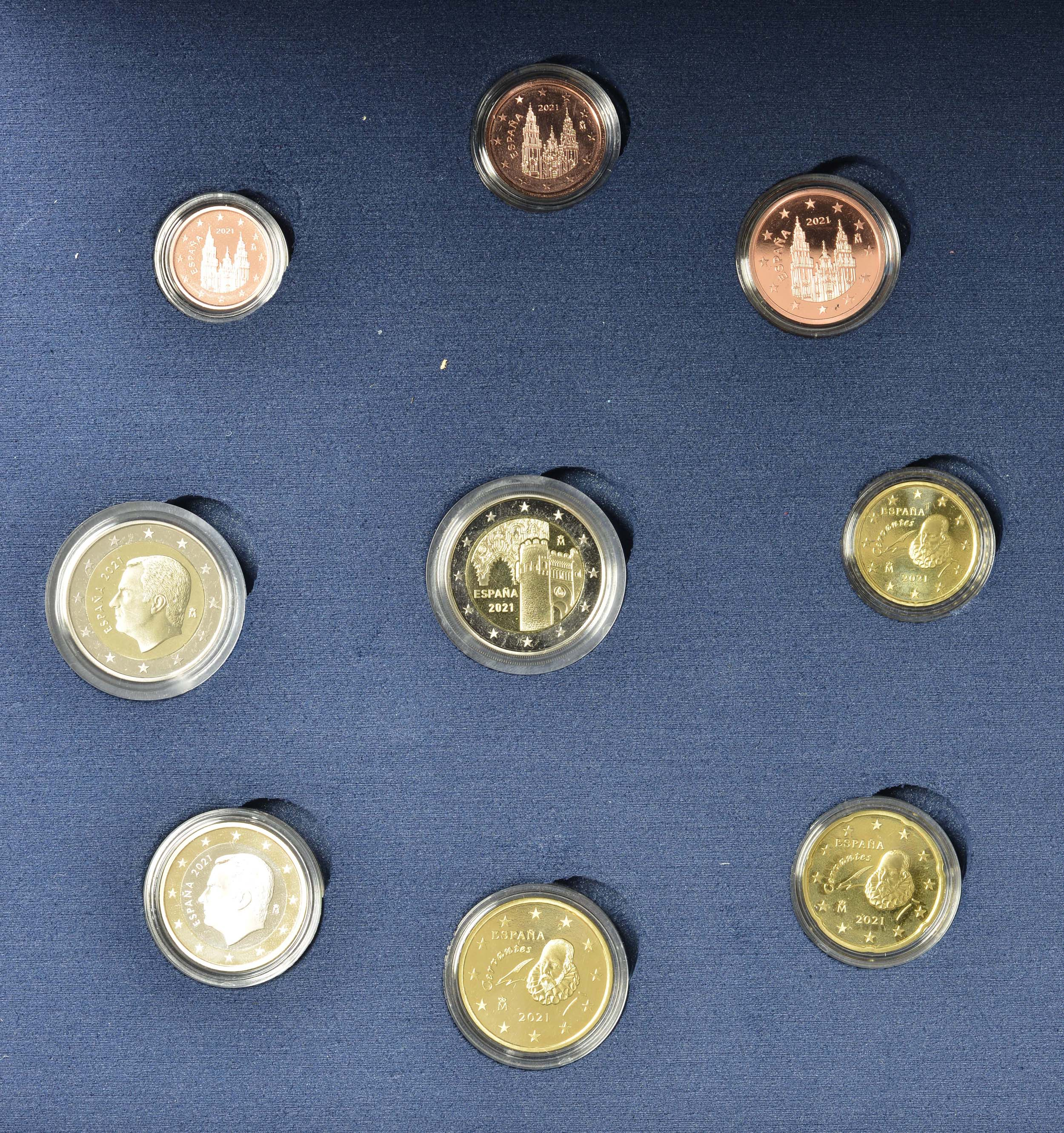 Vorderseite:Spanien : 5,88 Euro KMS Spanien  2021 PP