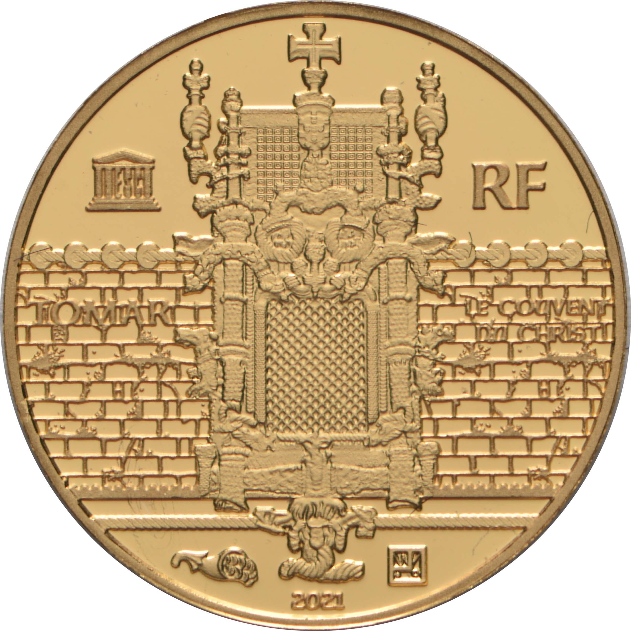 Rückseite:Frankreich : 5 Euro Magellan  2021 PP