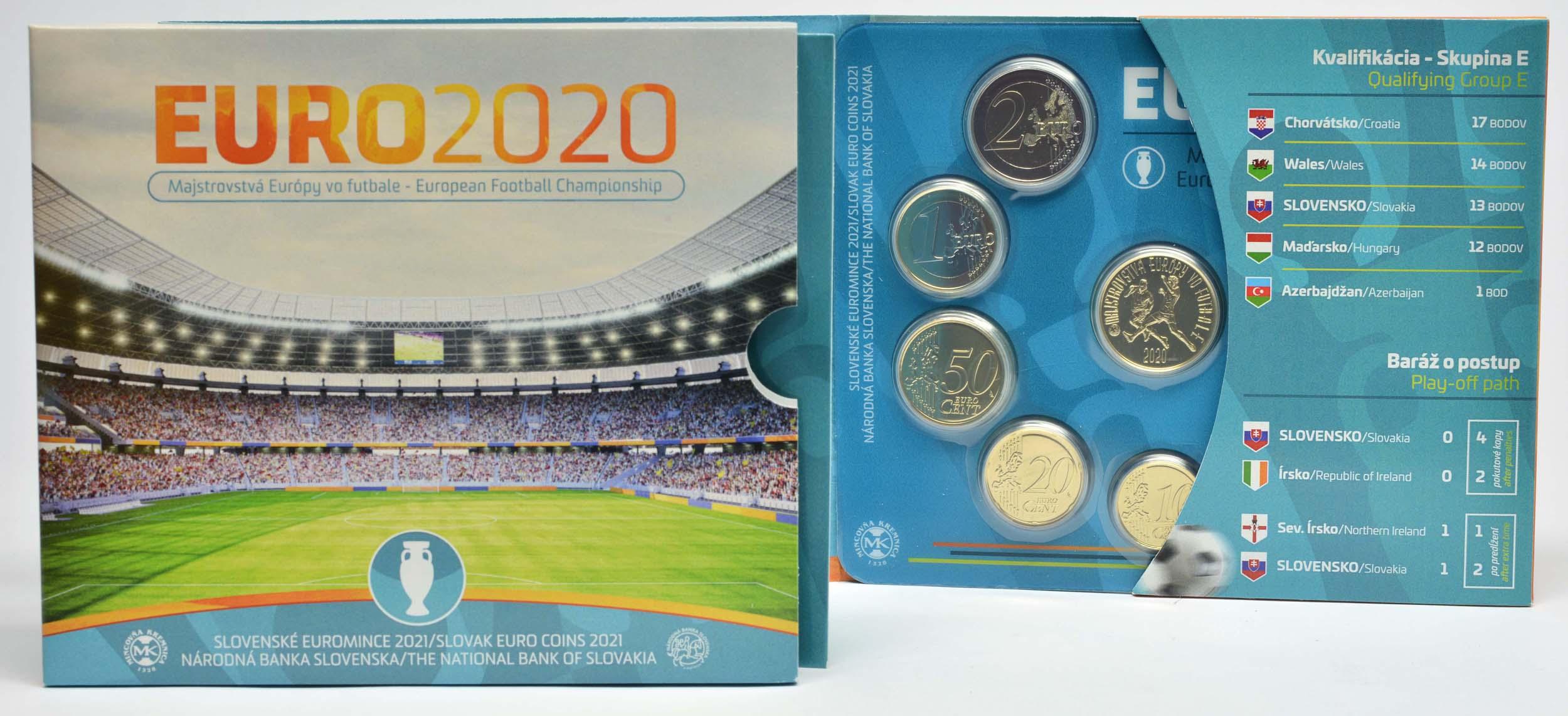 Lieferumfang:Slowakei : 3,88 Euro KMS Slowakei Fußball WM 2020  2021 Stgl.
