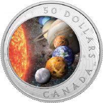 Lieferumfang:Kanada : 50 Dollar Solarsystem  2021 PP