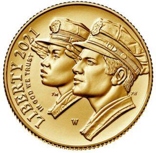 Vorderseite:USA : 5 Dollar Nationales Strafverfolgungsmuseum  2021 Stgl.