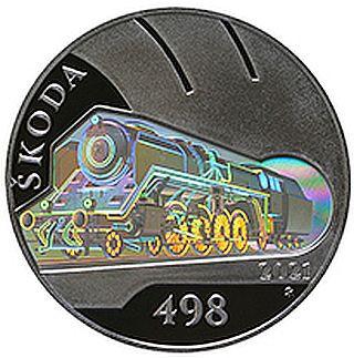 Lieferumfang:Tschechische Republik : 500 Kronen Skoda 498 Dampflokomotive ´Albatros´  2021 PP