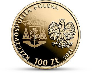 Vorderseite:Polen : 100 Zloty Seligsprechung Kardinal Wyszynski  2021 PP