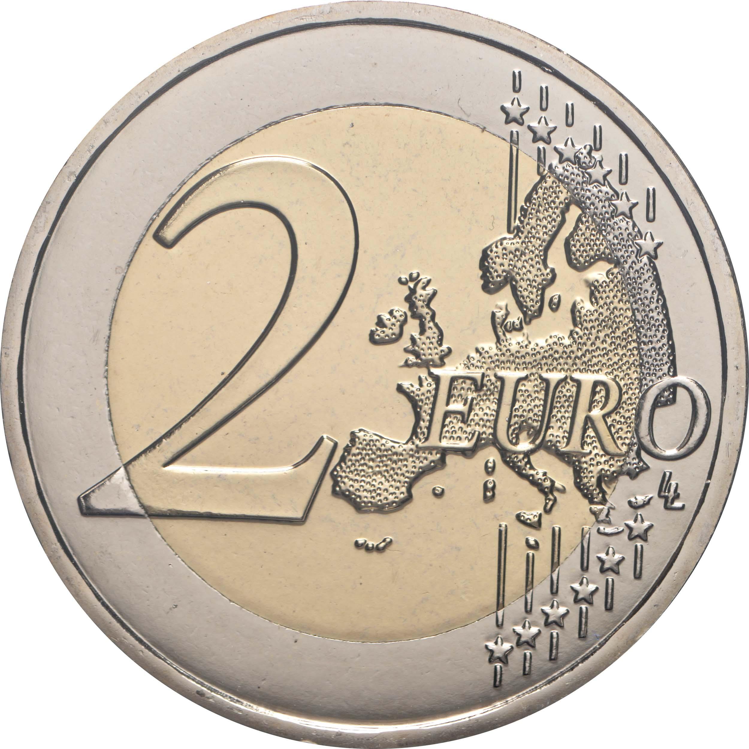 Vorderseite:Malta : 2 Euro 2x2 Euro Helden der Pandemie Variante Blister blau (Standard) + violett (extrem selten)  2021 Stgl.