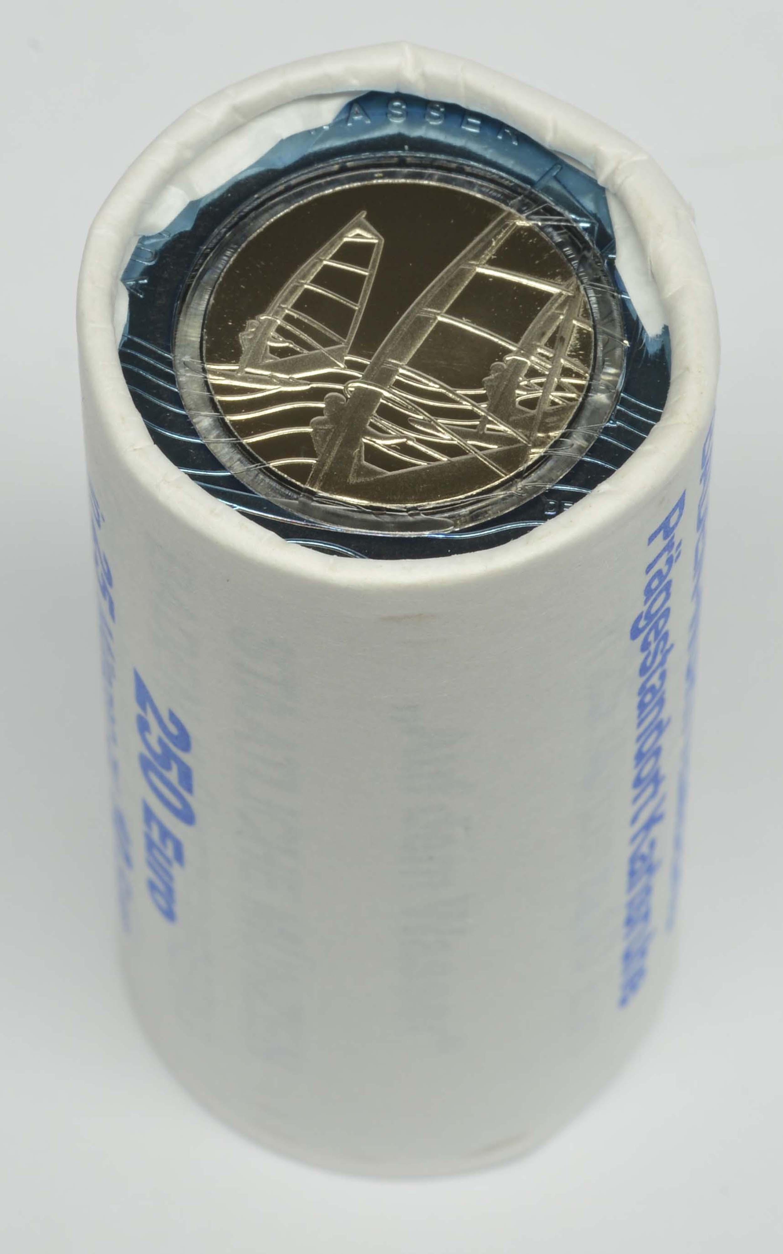 Lieferumfang:Deutschland : 10 Euro Originalrolle 25x10 Euro = 250 Euro Auf dem Wasser  2021 bfr