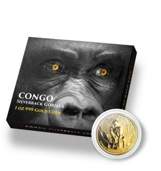 Lieferumfang:Kongo : 3000 Fr Gorilla  2021 Stgl.