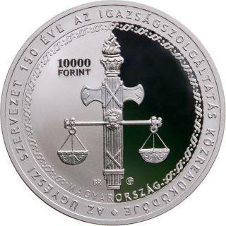 Lieferumfang:Ungarn : 10000 Forint 150 Jahre Staatsanwaltschaft Si PP  2021 PP