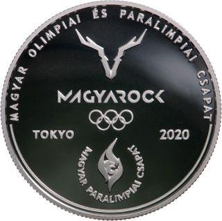 Vorderseite:Ungarn : 10000 Forint Olympia Tokyo  SiPP  2021 PP
