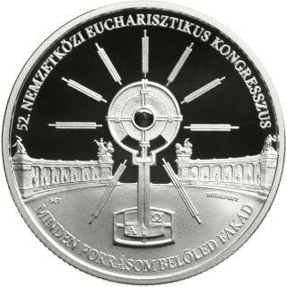 Lieferumfang:Ungarn : 10000 Forint 52. int. Eucharistischer Kongress SiPP  2021 PP