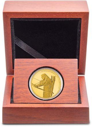 Lieferumfang:Niue : 25 Dollar Legolas - Herr der Ringe Classics 1/4 oz  2021 PP