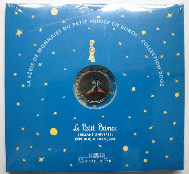 Lieferumfang:Frankreich : 3,88 Euro Themensatz -kleiner Prinz-  2002 bfr KMS Frankreich 2002; kleiner Prinz
