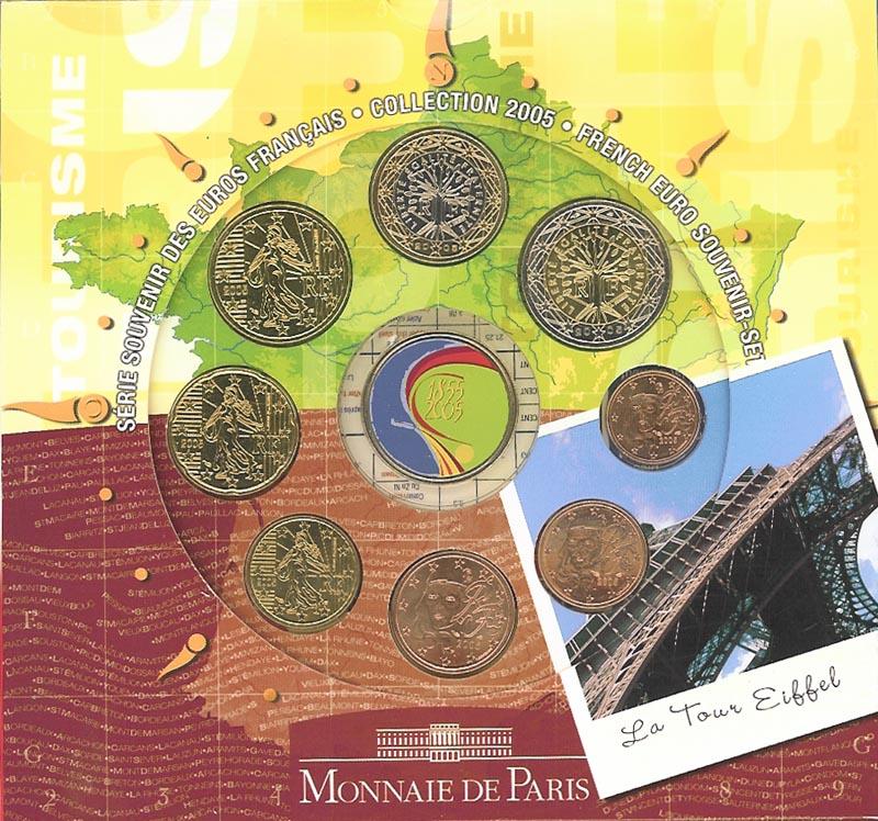 Lieferumfang:Frankreich : 3,88 Euro original KMS Frankreich Tourismus  2005 Stgl. KMS Frankreich 2005;Tourismus