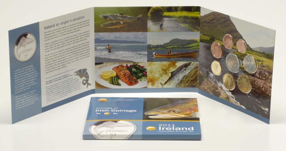 Lieferumfang:Irland : 3,88 Euro original Kursmünzensatz aus Irland  2011 Stgl.
