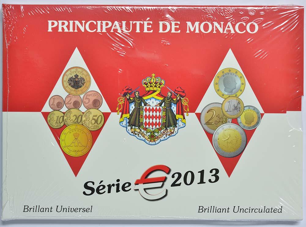 Lieferumfang:Monaco : 5,88 Euro KMS Monaco mit 2 Euro Gedenkmünze UNO  2013 Stgl.