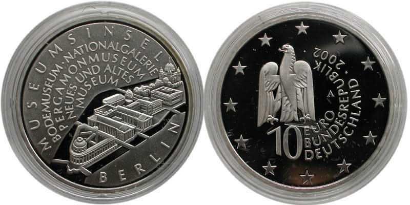 Lieferumfang:Deutschland : 10 Euro Museumsinsel Berlin  2002 PP