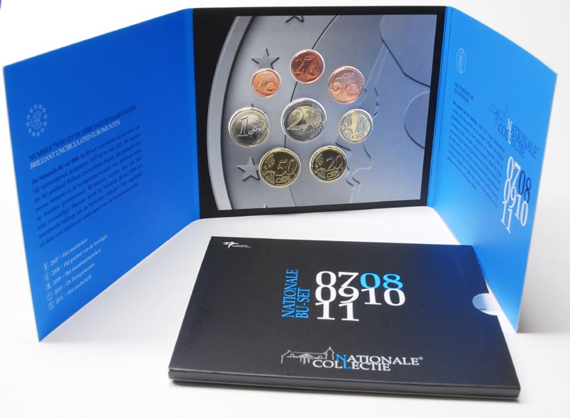 Lieferumfang:Niederlande : 3,88 Euro original Kursmünzensatz der niederländischen Münze  2008 Stgl.