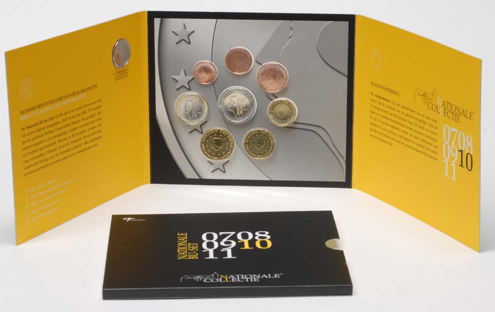 Übersicht:Niederlande : 3,88 Euro KMS Niederlande  2010 Stgl.