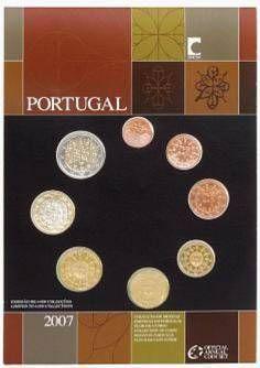 Lieferumfang:Portugal : 3,88 Euro original Kursmünzensatz aus Portugal FDC  2007 vz.