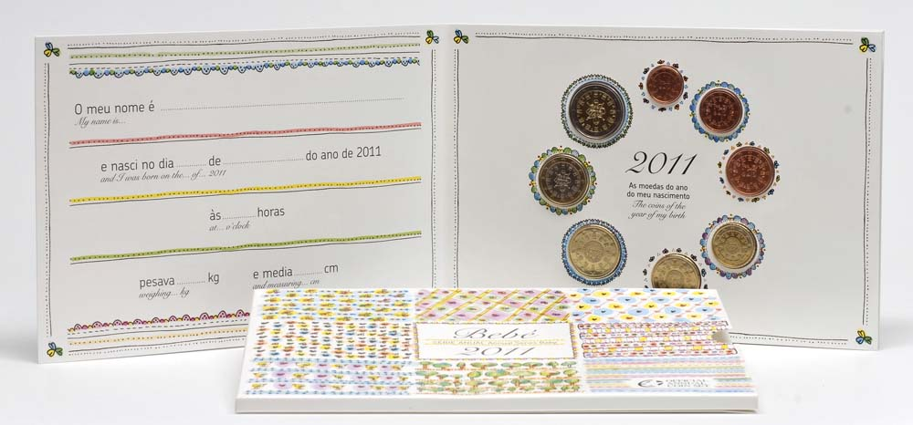 Lieferumfang:Portugal : 3,88 Euro original KMS Baby aus Portugal  2011 Stgl.