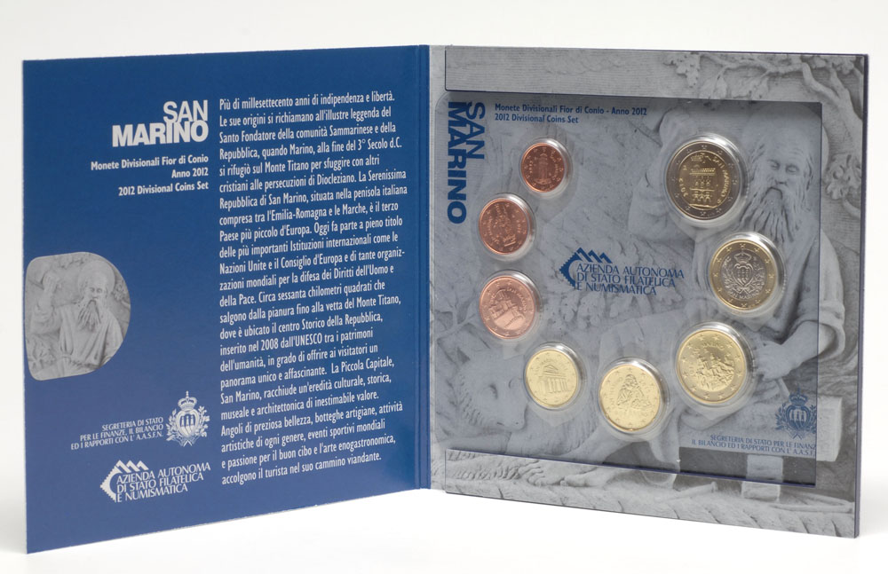 Lieferumfang:San Marino : 3,88 Euro KMS San Marino  2012 Stgl.
