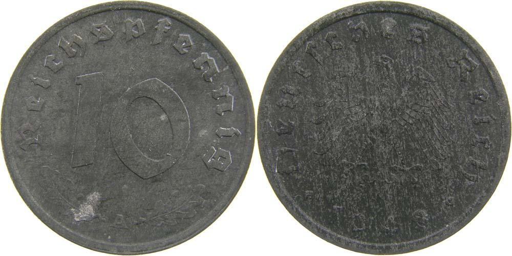 Übersicht:Deutschland : 10 Reichspf.   1948 ss/vz.