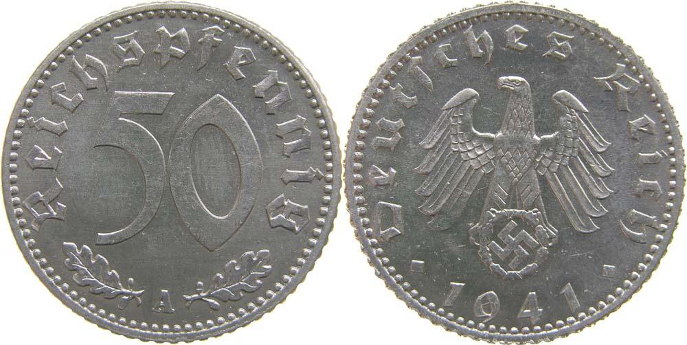 Übersicht:Deutschland : 50 Reichspf.   1941 Stgl.
