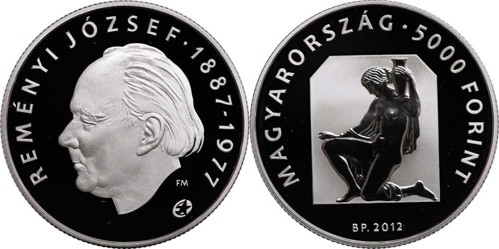 Lieferumfang:Ungarn : 5000 Forint Joszef Remenyi (Eurostern)  2012 PP